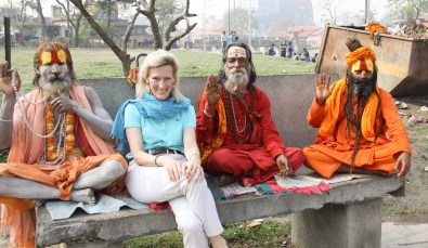 Can you pick out the one who is NOT a Sadhu Pashupatinath Temple