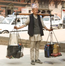 Typical scene in Patan
