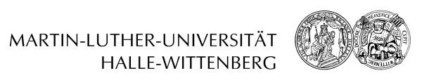 martin luther universität halle wittenberg # 32