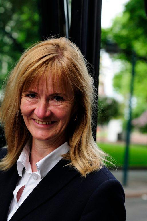 Marjaliisa Bjorkbom, Frontiers representative in Helsinki who coordinates transfers and flight connections