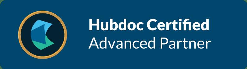 Hubdoc Badge