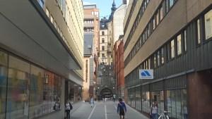Gli ammassi di edifici, anche molto diversi tra loro, mostra l'incessante espansione della capitale