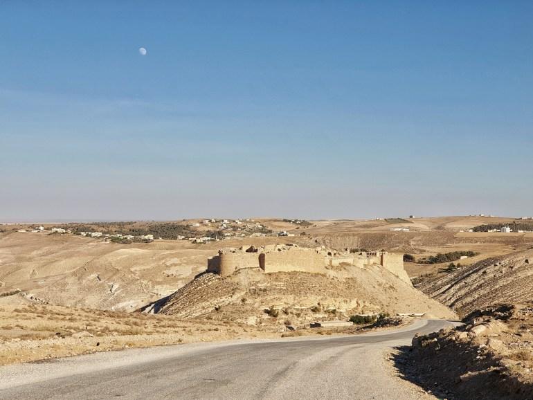 castelli in giordania