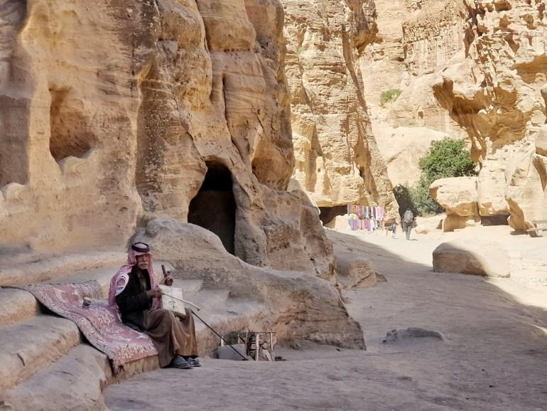 beduini in giordania