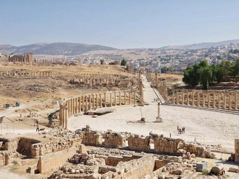 jarash in giordania