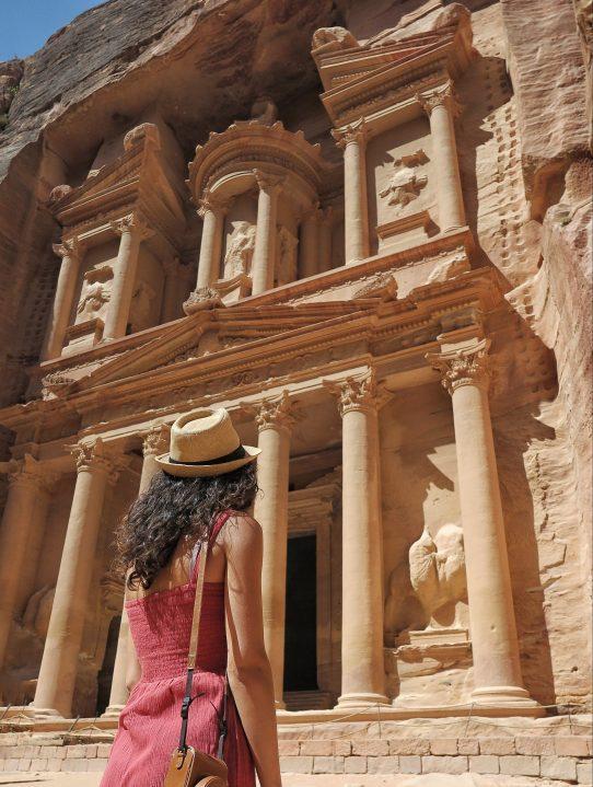visitare petra giordania