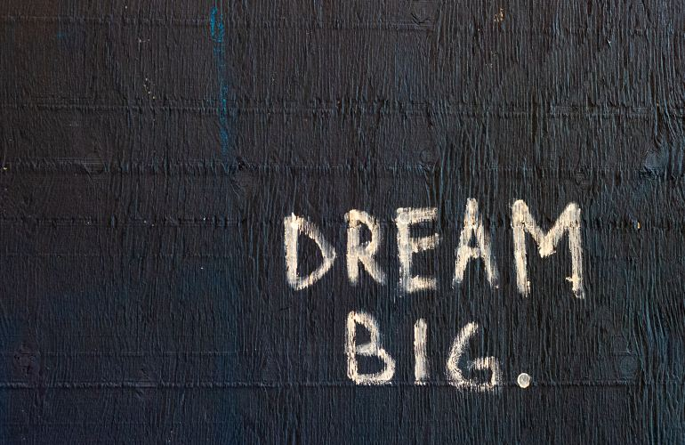 dream big image