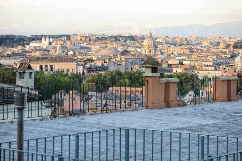 vista panoramica roma