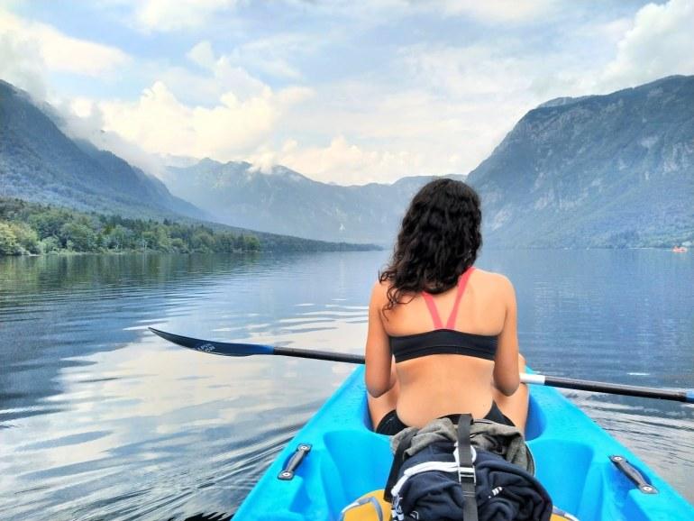 kayak in slovenia