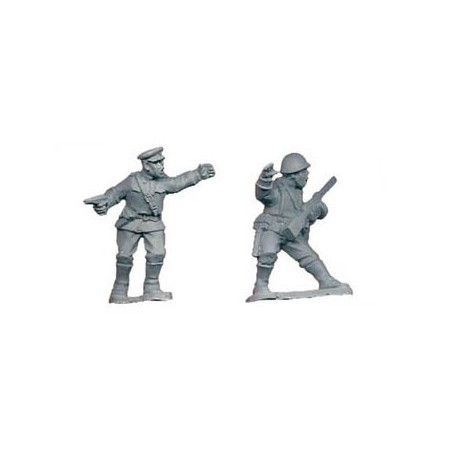 Russian Soviet Infantry Command A 28mm WWII CRUSADER