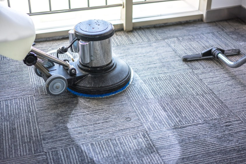 Frontline Cleaning Services offers decades of experience in commercial and residential carpet cleaning
