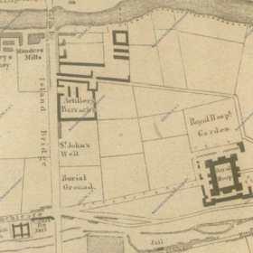 Dublin City Map. 1831