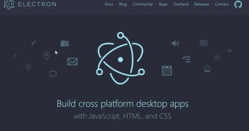 Desktop apps with Javascript: Electron 3.0 released