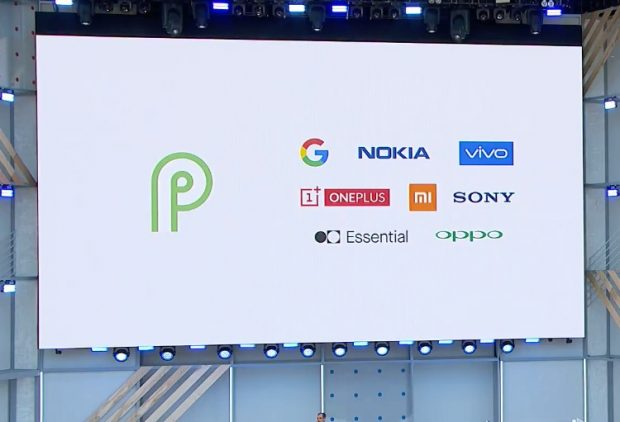 All hardware partners for the Android 9.0 beta