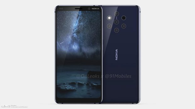 The Nokia 9 from HMD Global should have five main cameras