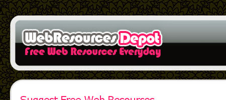 The Web Resources Depot is similar to the WebAppers website