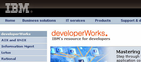 DeveloperWorks offers a lot of articles and practical tutorials on product development topics