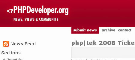 PHP Developer brings a lot of general information about PHP resources