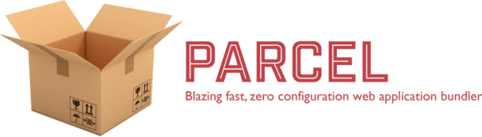 Parcel is a web app bundler, distinguished by its development experience