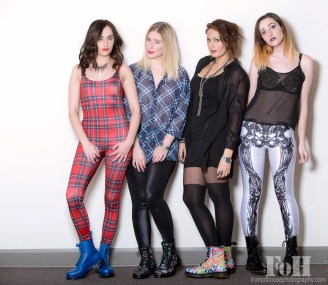 Emy, Dawndrea, Nadia & Alex
