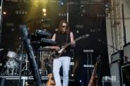July, 23, 2016 - Oro-Medonte, Canada: Half Moon Run, from Montreal, perform at Wayhome Music & Arts Festival
