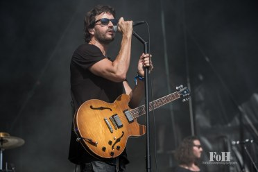 July, 23, 2016 - Oro-Medonte, Canada: American rock band Third Eye Blind perform at Wayhome Music & Arts Festival (Bobby Singh/Polaris).