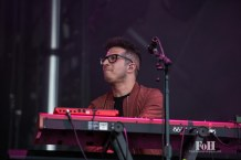 July, 23, 2016 - Oro-Medonte, Ontario, Canada: Hamilton Ontario indie rock band Arkells perform at Wayhome Music & Arts Festival (Bobby Singh/Polaris).