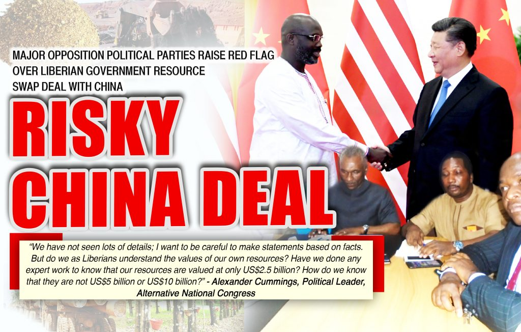 Liberia Opposition Political Parties Raise Red Flag over LiberiaChina US25bn Resource Swap