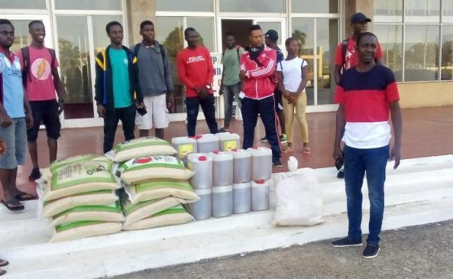Laf Distributes Stimulus Package To National Athletes