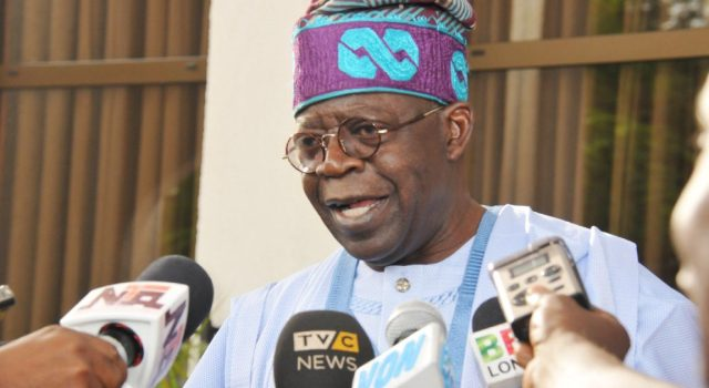 Why I was absent during Buhari's visit to Lagos –Tinubu