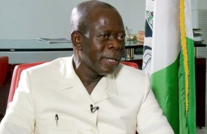 Buhari only for APC candidates in Ogun, Imo –Oshiomhole