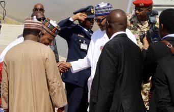 Buhari in Maiduguri as Osinbajo chairs FEC meeting
