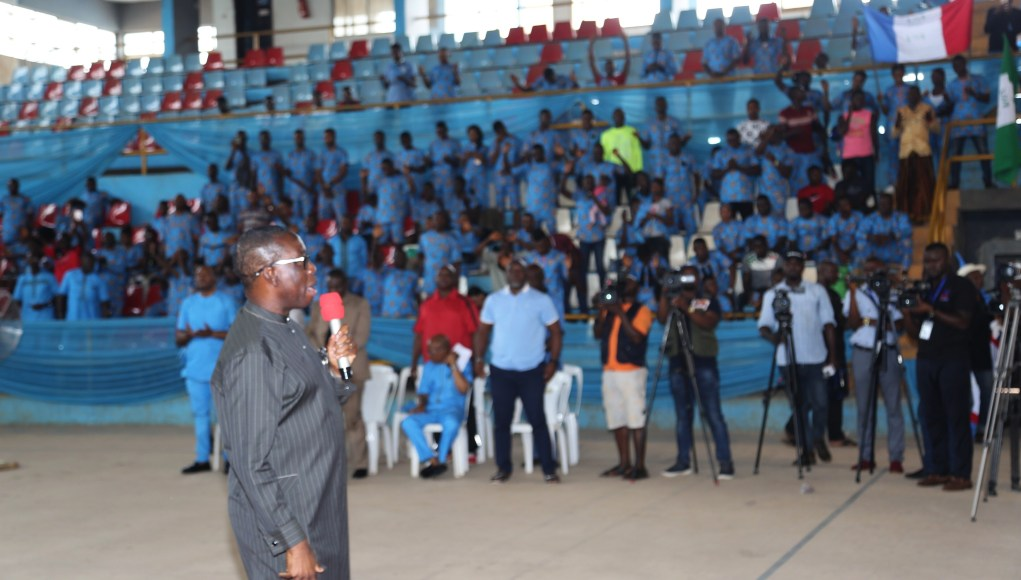 Abuja 2018: For every gold, you get N1m, Okowa promises Team Delta