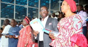 Reconcile with God, your neighbours, Okowa preaches