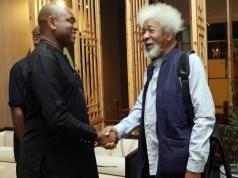 Election: Why I support Moghalu for president –Soyinka