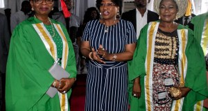 PHOTO NEWS: Bisi Fayemi, others at Elizade University convocation