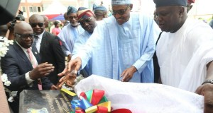 Buhari commends Ambode, says he contributed to growth of Lagos