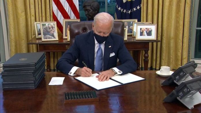 U.S. to reverse Trump's immigration policies, Biden tells Mexican president