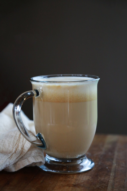 Gingerbread Coconut Milk Latte