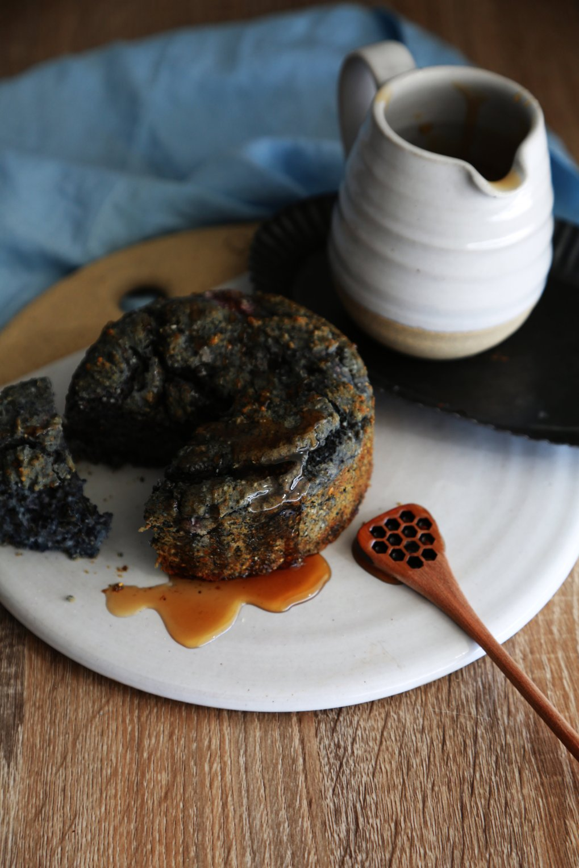 Blue COrnmeal Gluten-Free cornbread