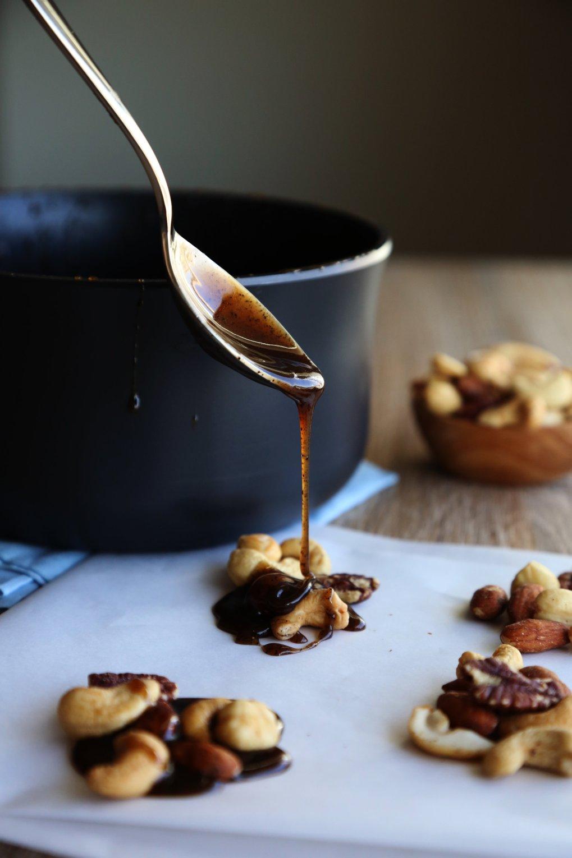 vegan espresso caramel