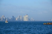 Panama City skyline as seen from the Causeway