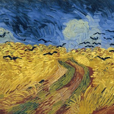 "Vincent van Gogh ""Wheatfield with Crows"" (1890)"