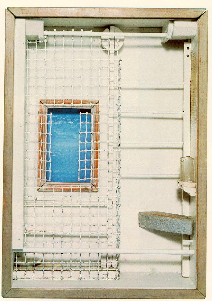 "Joseph Cornell ""Toward the Blue Peninsula"" (1952)"