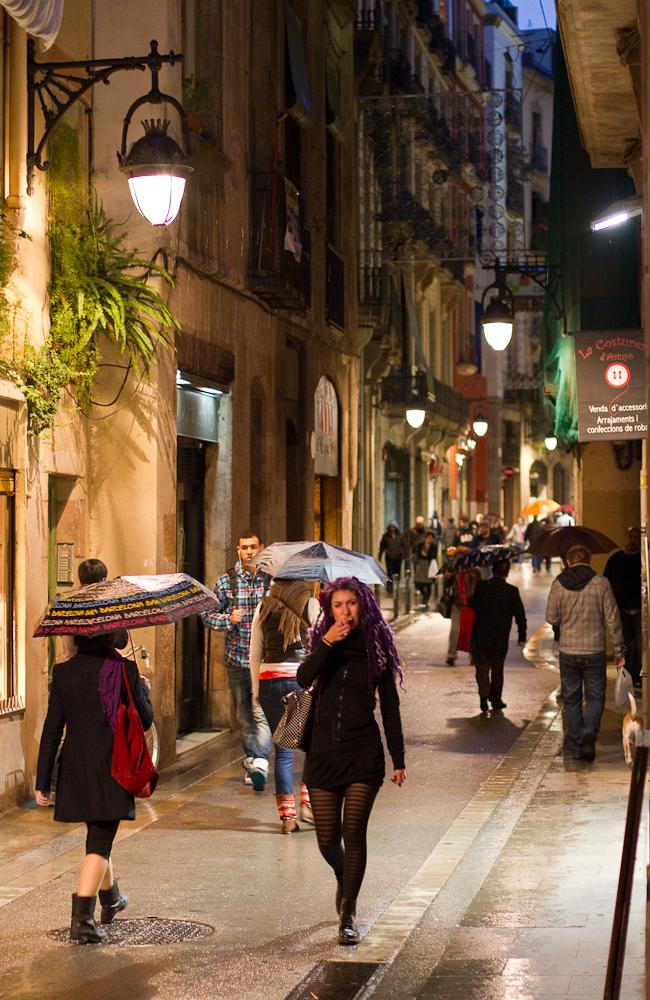 Barcelona Streets November 2011  Frontrange Imaging