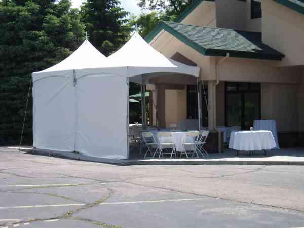 Frame Tent Sidewalls - Front Range Event Rental