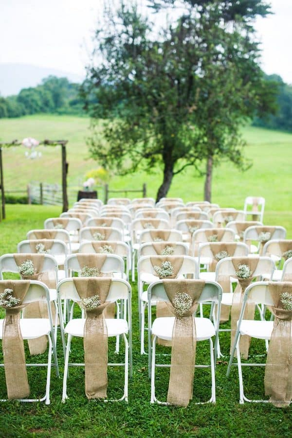 wedding decorations chairs receptions chameleon chair covers yeovil 2018 aisle decor trends blog front range event rental