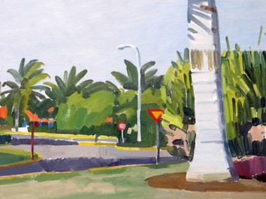 Hotel grounds, Cuba Michael Kirkbride at the Avondale Gallery