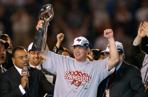 Image result for super bowl 37 gruden