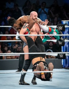 WWE Smackdown at the Frank Erwin Center, Austin, TX 12/4/2018. © 2018 Jim Chapin Photography